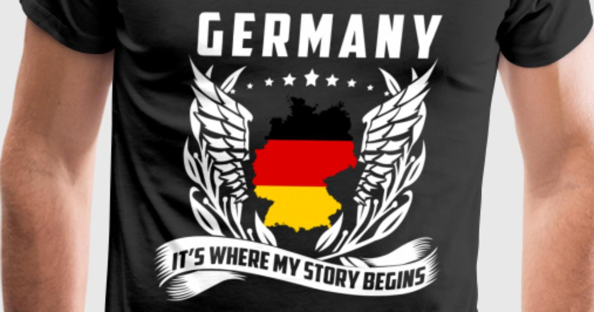 germany germany is where my story begins by spreadshirt. Black Bedroom Furniture Sets. Home Design Ideas