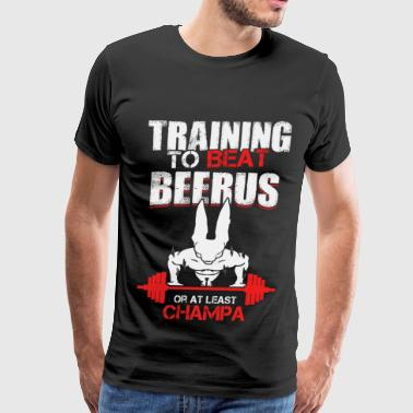 Training to beat Beerus or at least Champa - Men's Premium T-Shirt