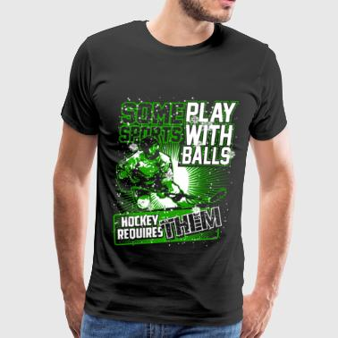 Hockey - Play with balls - Men's Premium T-Shirt