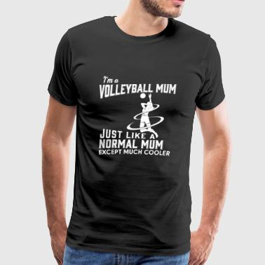 Porn Sports Team Volleyball mom - Like others except much cooler - Men's Premium T-Shirt