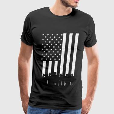 Support our troops - Support our troops - red sh - Men's Premium T-Shirt