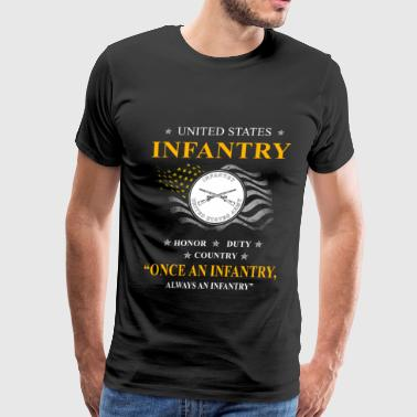 infantry, army infantry, veteran infantry, light i - Men's Premium T-Shirt