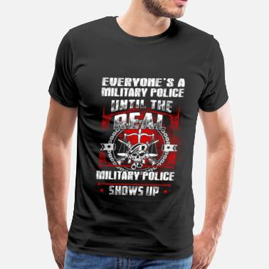 Military Police Dog military police, k9 military police, army veteran  - Men's Premium T-Shirt