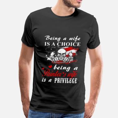 51f07f66 painters, painter, red house painters, house paint - Men's Premium T-Shirt