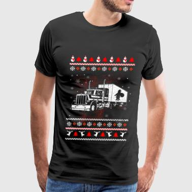 trucker, funny trucker, ice road truckers, trucker - Men's Premium T-Shirt
