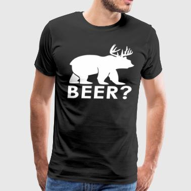 Beer? - Men's Premium T-Shirt