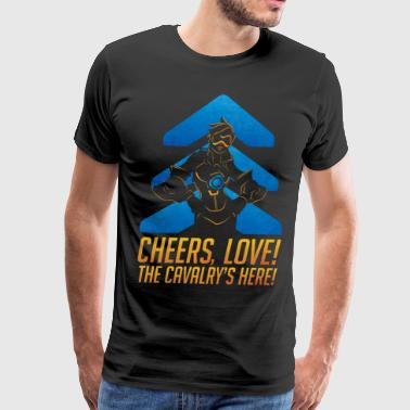 Tracer Cheers Love - Men's Premium T-Shirt