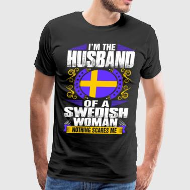 Im Swedish Woman Husband - Men's Premium T-Shirt