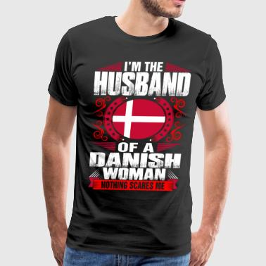 Im Danish Woman Husband - Men's Premium T-Shirt