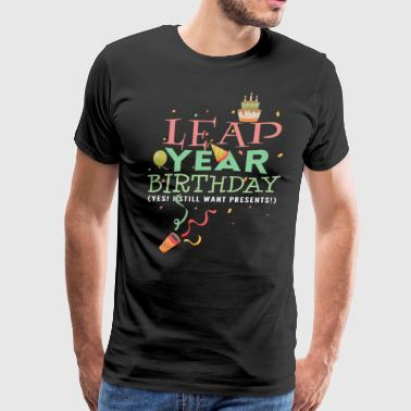 Leap Year Birthday Gift - Men's Premium T-Shirt