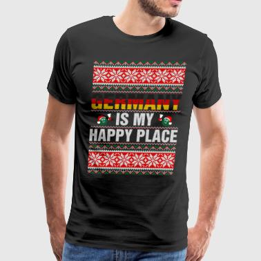Germany Is My Happy Place - Men's Premium T-Shirt
