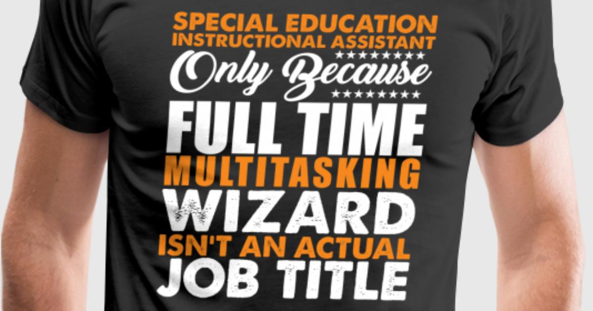 Special Education Instructional Assistant Title By Distrill