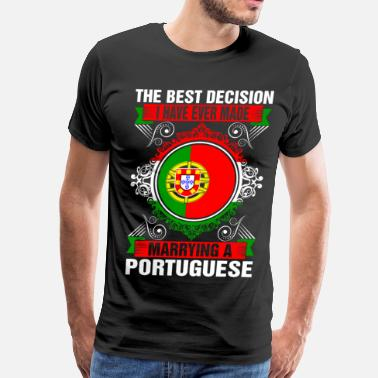 Portuguese Marrying A Portuguese - Men's Premium T-Shirt