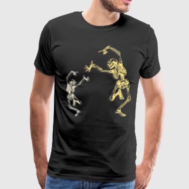 Skeleton Dance - Men's Premium T-Shirt