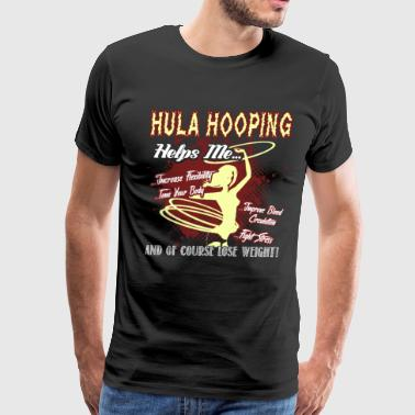 I Love Hula Hooping Shirt - Men's Premium T-Shirt