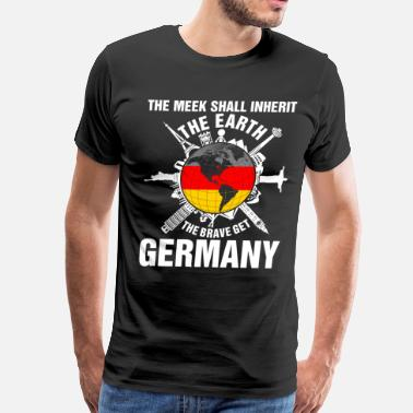 Germany Couple The Earth Brave Get Germany - Men's Premium T-Shirt