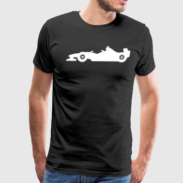 RACING CAR f1 - Men's Premium T-Shirt