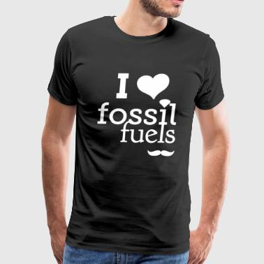 I Love Fossil Fuels - Men's Premium T-Shirt