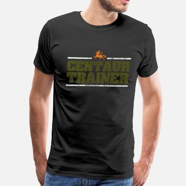Attention Centaur centaurus trainer Greek Mythology Gift - Men's Premium T-Shirt