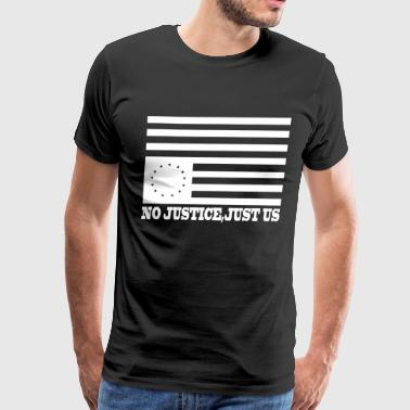 just us - Men's Premium T-Shirt