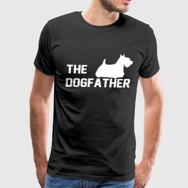 Rescue Shepherd The dog father - Men's Premium T-Shirt