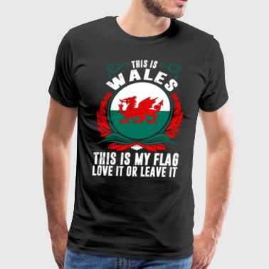 This Is Wales - Men's Premium T-Shirt