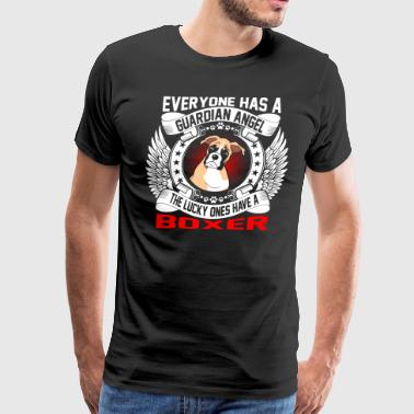 The Lucky Ones Have A Boxer - Men's Premium T-Shirt