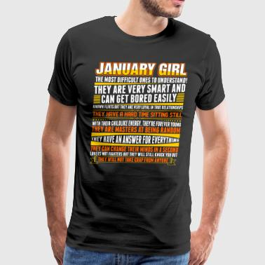 January Girl - Men's Premium T-Shirt