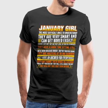 January Girl Friend January Girl - Men's Premium T-Shirt