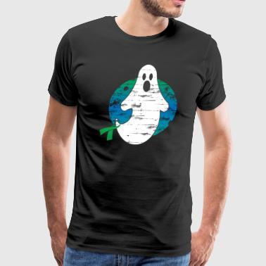 Scary Ghost B Cell Lymphoma Cancer Halloween Gift - Men's Premium T-Shirt