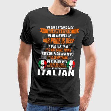 Deep Learning We Are The Italian - Men's Premium T-Shirt