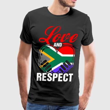 Love And Respect South Africa - Men's Premium T-Shirt