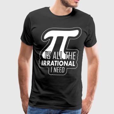 Math Student Math Pi Math Students with lovesickness - Men's Premium T-Shirt