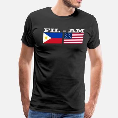 Fil Am filam - Men's Premium T-Shirt