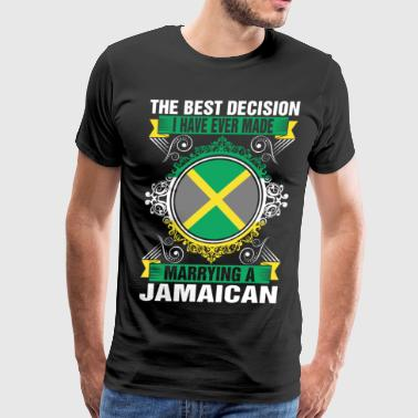 Jamaican Lady Marrying A Jamaican - Men's Premium T-Shirt