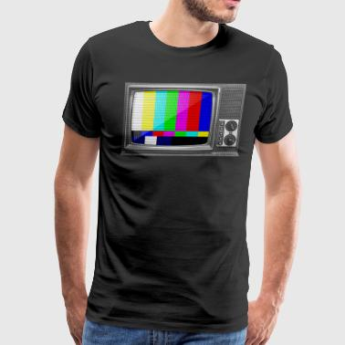 Test Patterns Test Pattern TV - Men's Premium T-Shirt