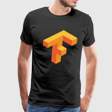 tensor flow - Men's Premium T-Shirt