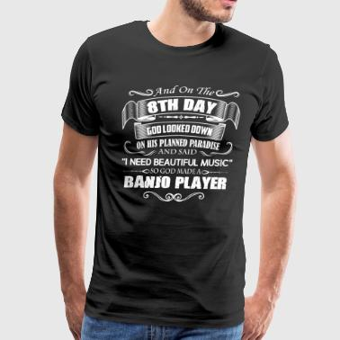 Banjo Player Shirts - Men's Premium T-Shirt