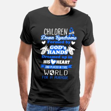 Kids With Down Syndrome Down Syndrome Shirt - Men's Premium T-Shirt