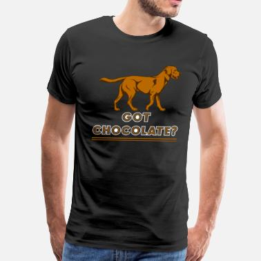 My Chocolate Lab Got Chocolate Lab Shirts - Men's Premium T-Shirt