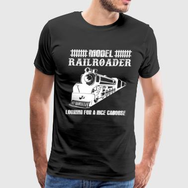 Model Railroader Shirts - Men's Premium T-Shirt