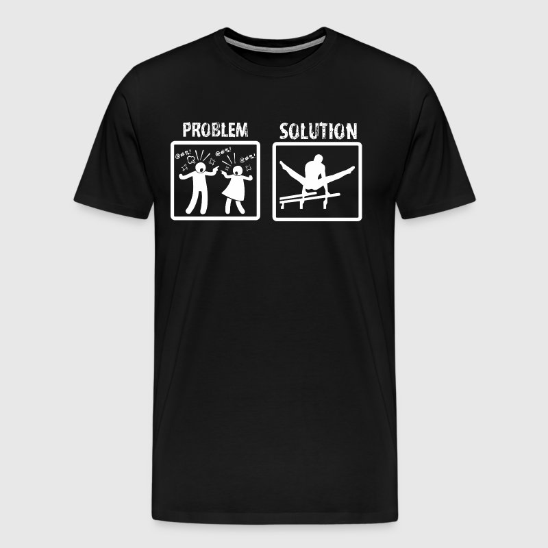 Problem Solution Gymnastics - Men's Premium T-Shirt