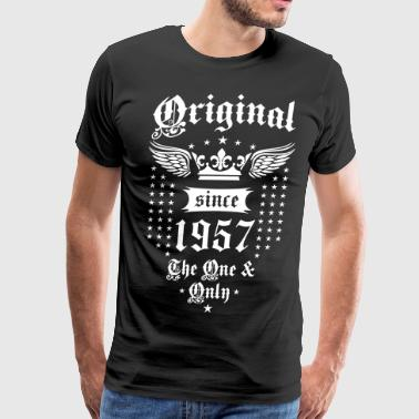 Original Since 1957 The One and Only Crown Wings - Men's Premium T-Shirt