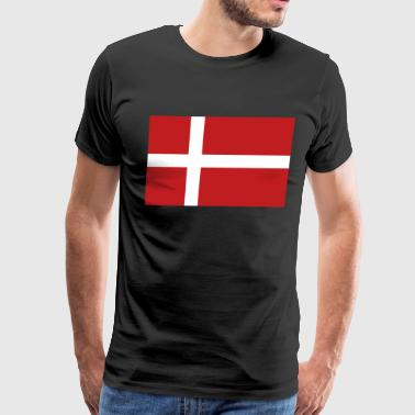 Danish Flag Danish Flag - Men's Premium T-Shirt