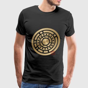 Flying Saucer Crop circle 25 - Men's Premium T-Shirt