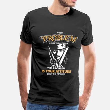 Pirate Caribbean Pirate of caribbean - The problem is not the probl - Men's Premium T-Shirt