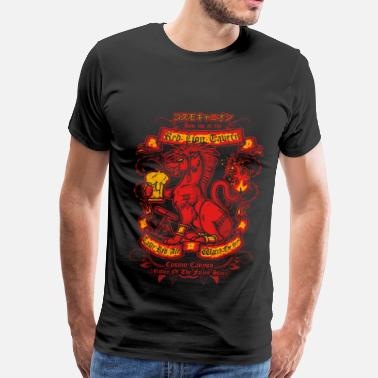 Final Fantasy 6 Red XIII in Final Fantasy VII T - shirt - Men's Premium T-Shirt