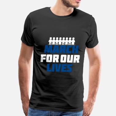 March for our lives 3 - Men's Premium T-Shirt