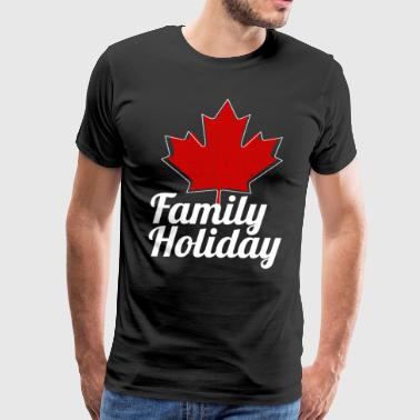 Canada Family Holiday - Men's Premium T-Shirt