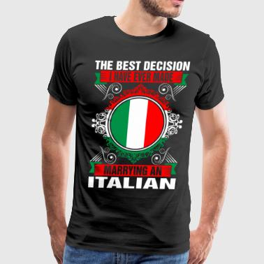 Marrying An Italian Marrying An Italian - Men's Premium T-Shirt